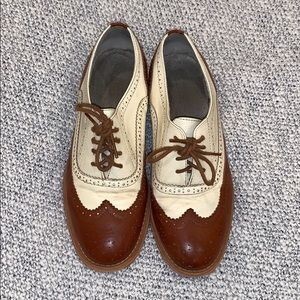 ModCloth Talking Picture Oxfords